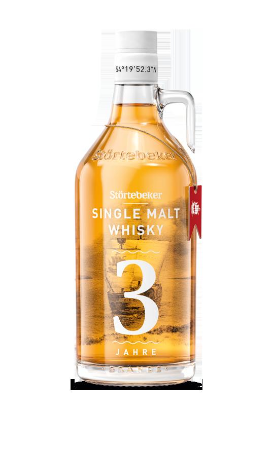 Störtebeker Single Malt Whisky Klassik 3 Jahre