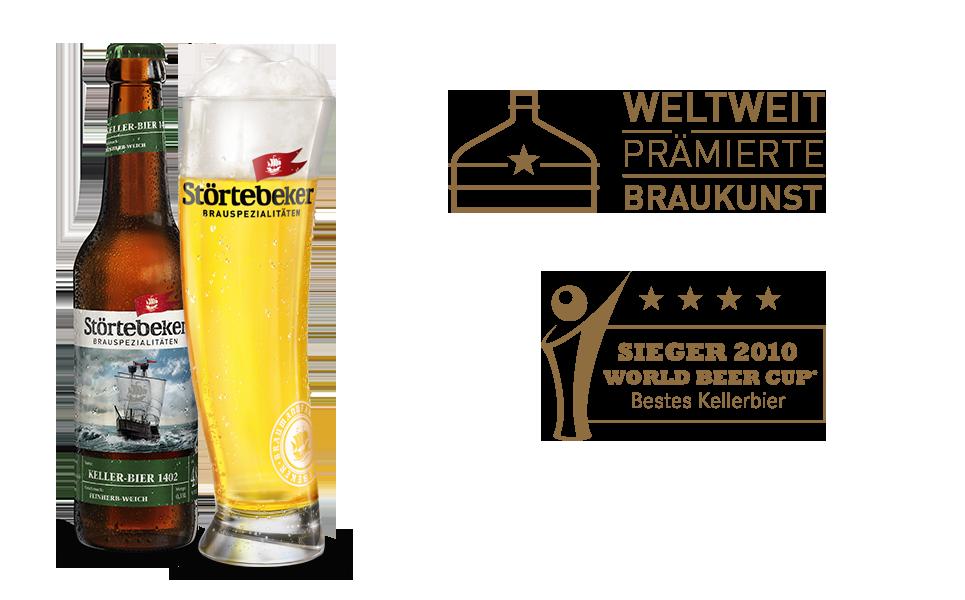 Frame Bild Keller-Bier 1402