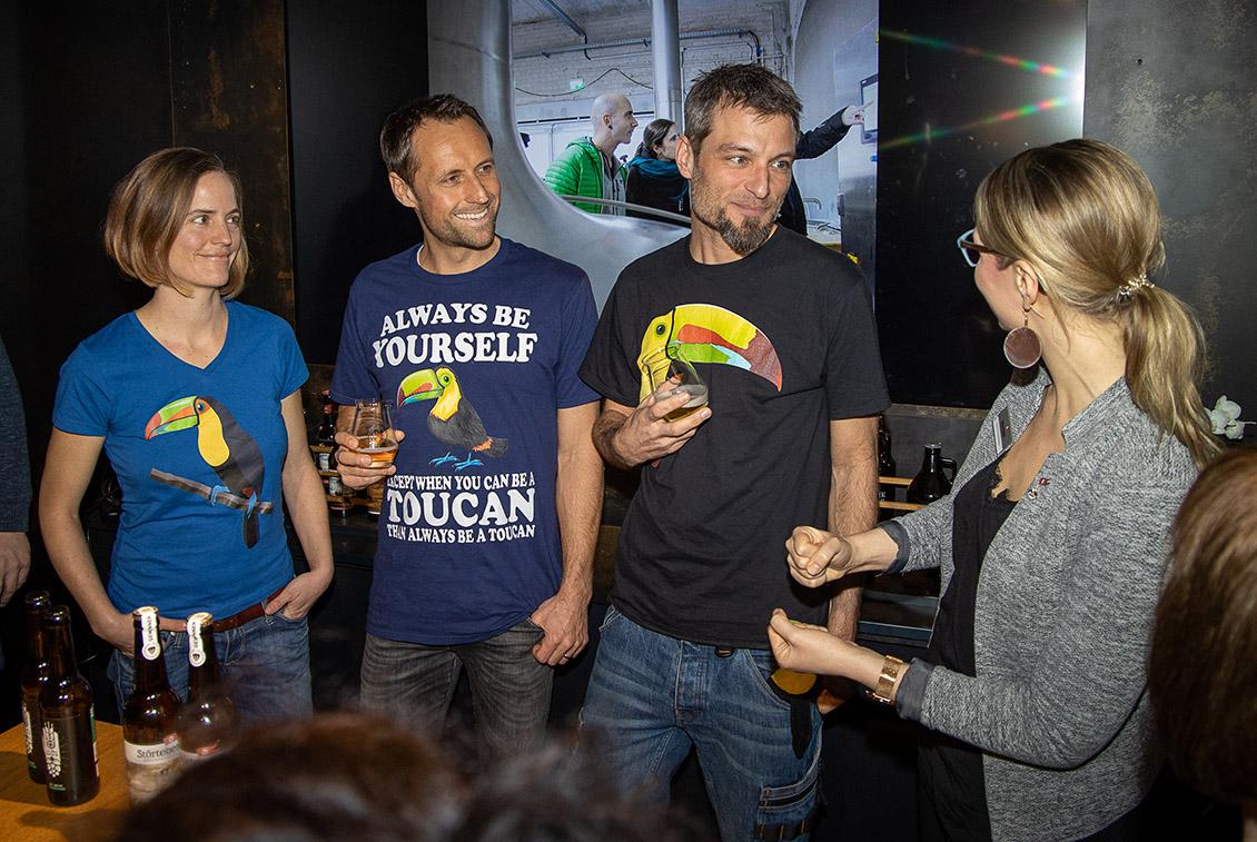 Präsentation Siegerbiere Hobbybrauer Meisterschaft