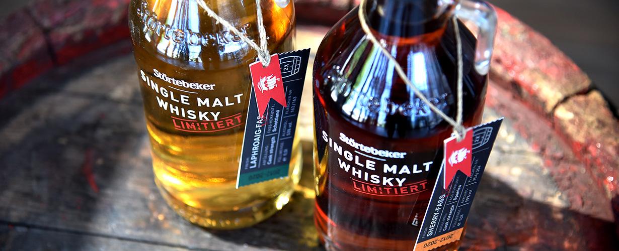 2 neue limitierte Störtebeker Single Malt Whiskys in Fassstärke