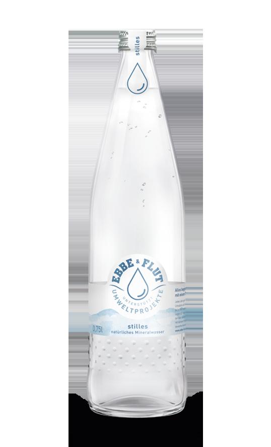 Natürliches Mineralwasser ohne Kohlensäure