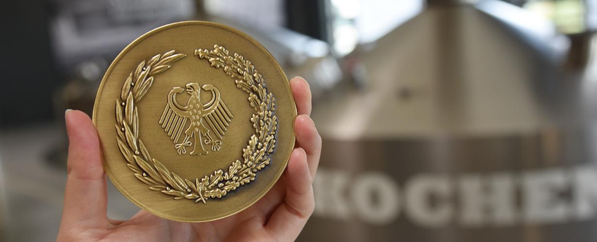 13. Bundesehrenpreis für die Störtebeker Braumanufaktur