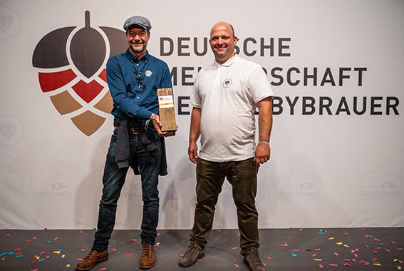 Gewinner der Deutschen Meisterschaft der Hobbybrauer 2020: Martin Tietz