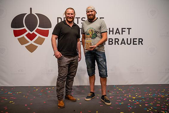 Braute das beste Kreativbier: Florian Erdel aus Bruchsal.