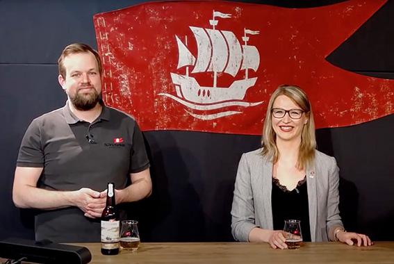 Bei Störtebeker Live finden Online-Verkostungen zu verschiedenen Bier-Themen statt.