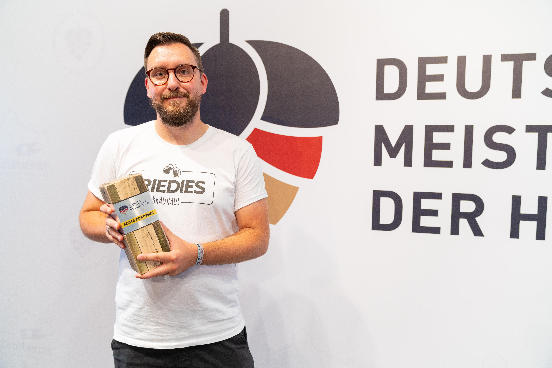 Paul Schüßler aus Wiesbaden braute das beste Kreativbier.